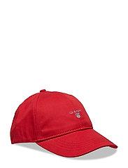 GANT TWILL CAP - RED