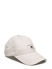 GANT TWILL CAP - PUTTY