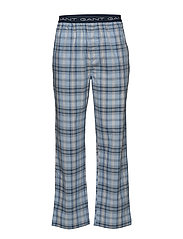 PAJAMA PANTS WOVEN  BLUE CHECK - NAVY