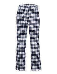 PJ SET FLANNEL PANTS/HENLEY G.BOX