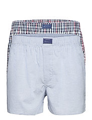 CHECK BOXER SHORTS 2-PACK - CLASSIC BLUE