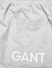 GANT - JERSEY PAJAMA PANTS - bottoms - light grey melange - 6
