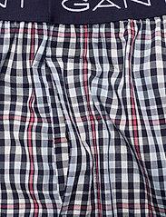 GANT - BIG CHECK PAJAMA PANTS - bottoms - classic blue - 3
