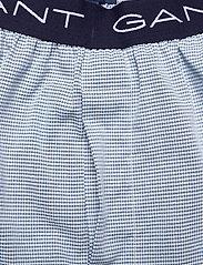 GANT - MINI GINGHAM PAJAMA PANTS - bottoms - classic blue - 3