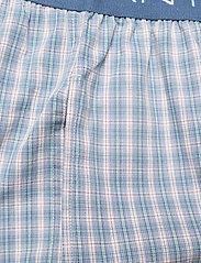 GANT - GRADIENT CHECK PAJAMA PANTS - pyjamas - salty sea - 2