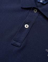 GANT - THE ORIGINAL SS PIQUE - polo shirts - evening blue - 2