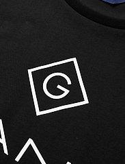 Gant - GANT LOCK-UP SS T-SHIRT - short-sleeved - black - 2