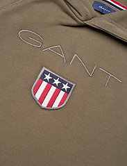 GANT - GANT SHIELD HOODIE - hoodies - sea turtle - 2
