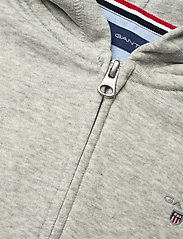 GANT - THE ORIGINAL FULL ZIP SWEAT HOODIE - hættetrøjer - light grey melange - 2