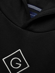 GANT - GANT LOCK-UP SWEAT HOODIE - hoodies - black - 2