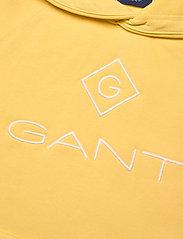 GANT - GANT LOCK-UP SWEAT HOODIE - hoodies - brimstone yellow - 2