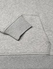 GANT - GANT LOCK-UP SWEAT HOODIE - kapuzenpullover - light grey melange - 3