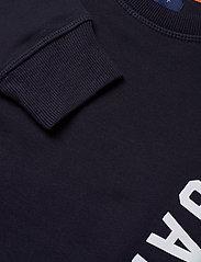GANT - D1. COLOR C-NECK SWEAT - sweatshirts - evening blue - 2