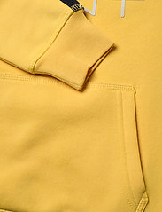 GANT - D1. LOCK UP STRIPE HOODIE - hættetrøjer - solar power yellow - 5