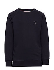 D1. THE ORIGINAL C-NECK SWEAT - EVENING BLUE