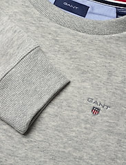 GANT - D1. THE ORIGINAL C-NECK SWEAT - sweatshirts - light grey melange - 2