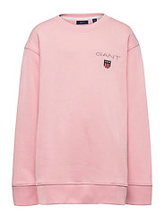 D1. MEDIUM SHIELD SWEAT C-NECK - PREPPY PINK