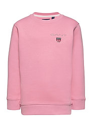 D1. MEDIUM SHIELD SWEAT C-NECK - SEA PINK