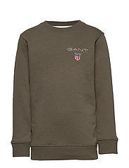 D1. MEDIUM SHIELD SWEAT C-NECK - SEA TURTLE