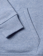 GANT - D1. MEDIUM SHIELD SWEAT HOODIE - hættetrøjer - frost blue mel - 3