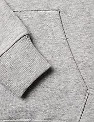 GANT - D1. MEDIUM SHIELD SWEAT HOODIE - hoodies - light grey melange - 3