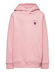 D1. MEDIUM SHIELD SWEAT HOODIE - PREPPY PINK