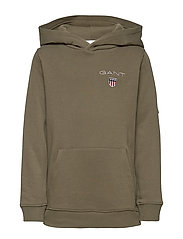 D1. MEDIUM SHIELD SWEAT HOODIE - SEA TURTLE