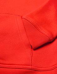 GANT - ARCHIVE SHIELD HOODIE - kapuzenpullover - lava red - 3