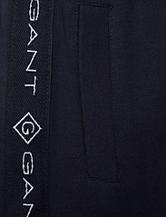 GANT - D1. LOCK UP STRIPE PANTS - jogginghosen - evening blue - 4