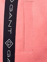 GANT - D1. LOCK UP STRIPE PANTS - jogginghosen - strawberry pink - 4