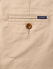 GANT - GANT CHINO - trousers - dry sand - 4
