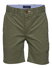 CHINO SHORTS - FOUR LEAF CLOVER