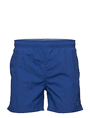BASIC SWIM SHORTS CLASSIC FIT - COLLEGE BLUE