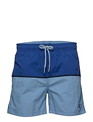 CUT & SEWN SWIM SHORTS CLASSIC FIT - COLLEGE BLUE