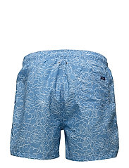 FULL BLOOM OUTLINE SWIM SHORTS C.F.