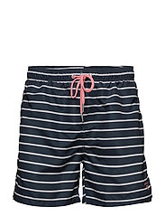 BRETON STRIPE SWIM SHORTS C.F. - NAVY