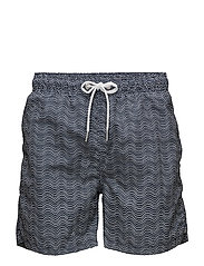 WAVE DOT SWIM SHORTS C.F. - NAVY