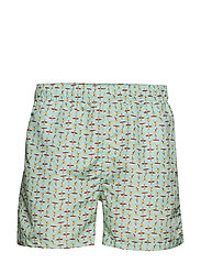 SURFERS SWIM SHORTS CLASSIC FIT - BAY GREEN