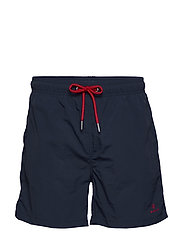 BASIC SWIM SHORTS CLASSIC FIT - MARINE
