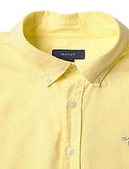 GANT - ARCHIVE OXFORD B.D SHIRT - shirts - lemon - 2