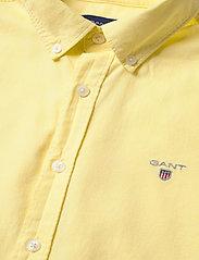 GANT - ARCHIVE OXFORD B.D SHIRT - shirts - lemon - 3