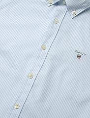 GANT - ARCHIVE OXFORD STRIPE BD SHIRT - shirts - capri blue - 2