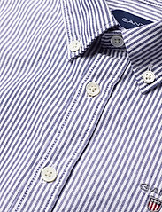 GANT - ARCHIVE OXFORD STRIPE BD SHIRT - shirts - college blue - 2