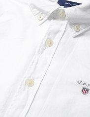 GANT - THE ORIGINAL TWILL SHIRT - overhemden - white - 2