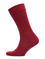 SOFT COTTON SOCKS - CARDINAL RED