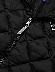 GANT - D1. DIAMOND PUFFER VEST - vests - black - 3