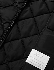 GANT - D1. DIAMOND PUFFER VEST - vests - black - 5