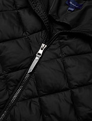GANT - D1. THE LT WEIGHT DIAMOND PUFFER - puffer & padded - black - 5