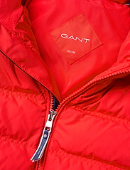 GANT - D1. LOCK-UP STRIPE PUFFER JACKET - puffer & padded - atomic orange - 5