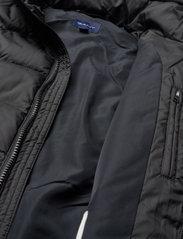 GANT - D1. LT WEIGHT PUFFER JACKET - puffer & padded - black - 4